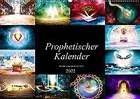Prophetischer Kalender: Bilder einer anderen Welt (Wandkalender 2022 DIN A2 quer): Zwoelf prophetische Bilder grafisch dargestellt. (Monatskalender, 14 Seiten )