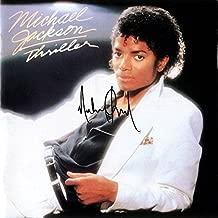 Michael Jackson Signed Autographed Thriller Record Album Cover LP Autographed Signed Facsimile