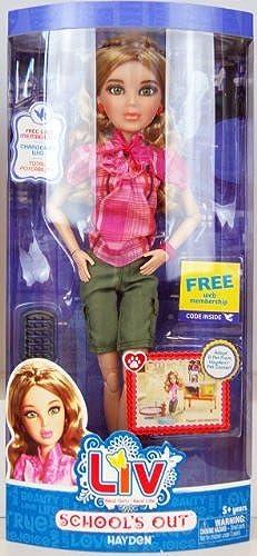 Liv Hayden School's Out Fashion Doll by LIV