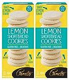 Pamela's Lemon Shortbread Traditional Cookies, 6.25 OZ, Pack of 2