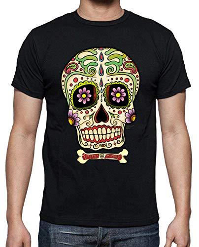 latostadora Camiseta Calavera Mexicana !!! - Camiseta Hombre clásica