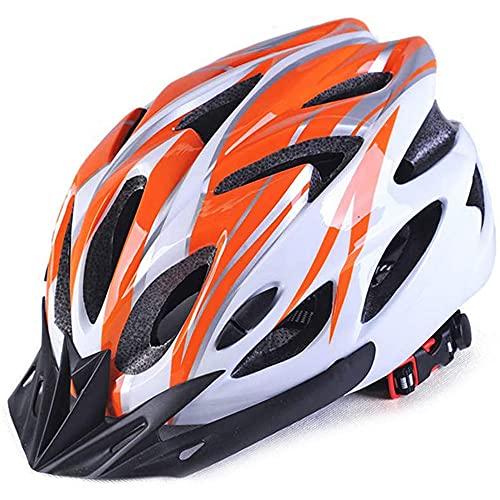 Casco de bicicleta ajustable, Protección de seguridad para hombres y mujeres, Ciclismo...