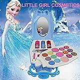 Waroomss Disney 22Pcs Princesse Jeu De Cosmétiques pour Filles avec Miroir | Lavable Et Non Toxique...