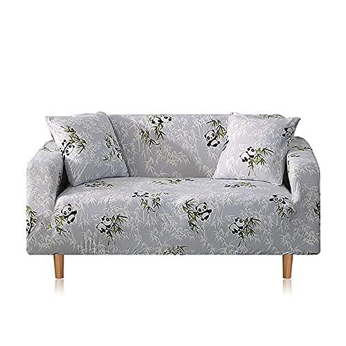 ASCV Funda de sofá Fundas de Muebles elásticas Fundas de sofá elásticas para Sala de Estar Fundas de sofá para sillones Fundas de sofá A8 3 plazas