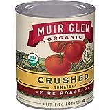 Muir Glen, Organic Crushed Fire Roasted Tomatoes, 28 oz (Pack of 12)