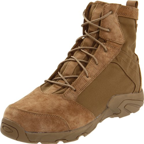 Oakley Men's LSA Boot Terrain Military Boot, Coyote, 6.5 M US