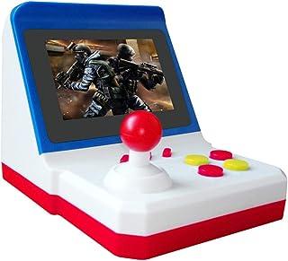 Máquina de juego retro Mini Arcade - Consola de juego de rocker SUP rojo blanco portátil FC 600 Game Retro Arcade 8BIT Restaurando formas antiguas