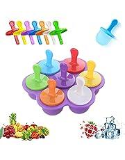 LUKIUP® IJsvormpjes, ijsvorm, BPA-vrij, ijsvorm, ijsvorm ijslolly vormen, voor plezier bij kinderen en volwassenen