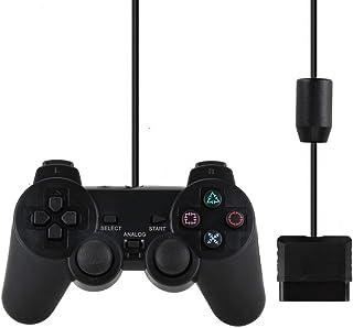 Controle Joystick Com Fio Para Ps1 E Ps2