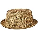 Stetson Sombrero de Paja Liverton Toyo Pork Pie Mujer - Playa Sol Primavera/Verano - M (56-57 cm) Natural