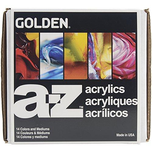 Pro-Art Z Heavy Body Acrylic Paint Starter Set, Gold