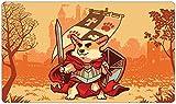 Inked Playmats Warrior Corgi Playmat Inked Gaming TCG...