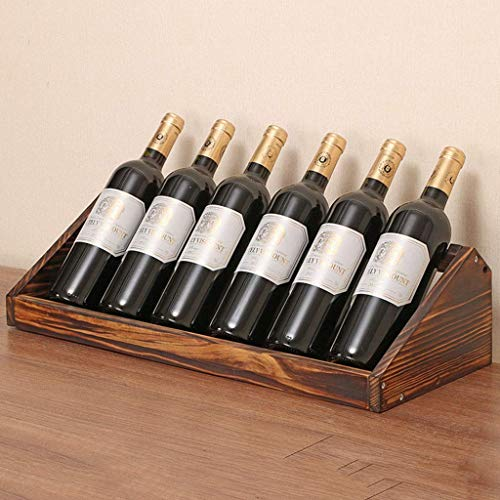 KAISIMYS Holz Weinregal Flaschenhalter, freistehende Weinregal Regal Montage erforderlich, für Home Decor Bar Weinkeller Keller Schrank Speisekammer