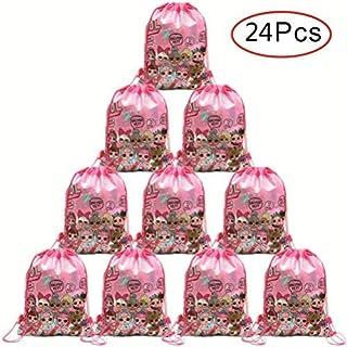 Micher 24 Pack LOL Bolsa de fiesta con lazo, Favores de