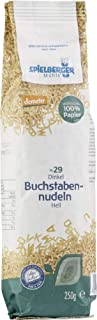 Spielberger Bio Dinkel-Buchstabennudeln, demeter 6 x 250 gr