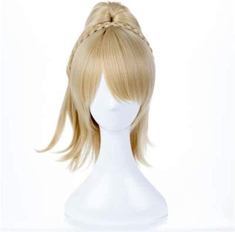 BFBMY GamesCosplay Wig FF15 XV In [Alternative dealer] stock Nox Lunafreya Golden Fleuret