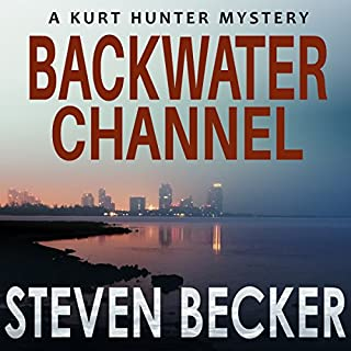Backwater Channel (Kurt Hunter Mysteries) audiobook cover art