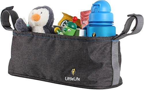 LittleLife Buggy Organiser Unisex-Baby, Grey