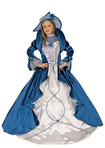 Fiori Paolo- Costume per Bambini, Blu Bianco, 9-11 anni, 26212.9-11