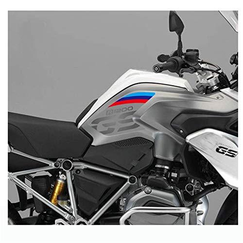 Moto Reservoir Autocollant for BMW R1200GS 2013-2017 Tapis de réservoir Souple en Caoutchouc Autocollants Side Pad gaz Grip Carburant décalcomanies R 1200 GS R1200 13 14 15 16 17