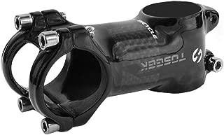 TOSEEK Aluminum Alloy Bike Stem Mountain Bike Stem for Bicycle, Road Bike, MTB Black 31.8 60mm 70mm 80mm 90mm 100mm 6 Degree/17 Degree