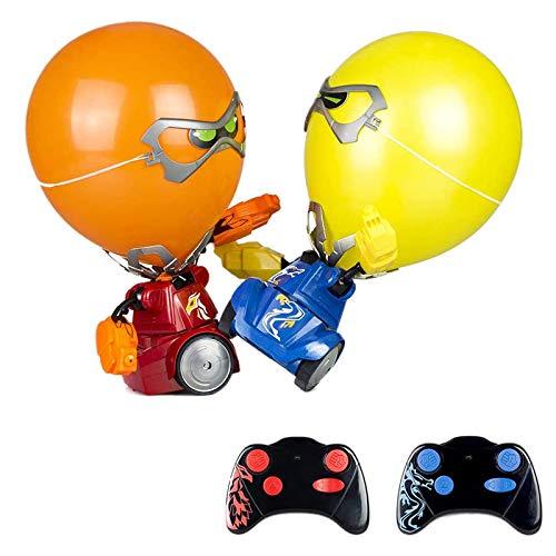 Pineapplen Robot de Batalla de Globos Juego de Fiesta Multijugador InteraccióN Entre Padres e Hijos Rompecabezas Educativo NiiOs Competitivos Juguete EléCtrico