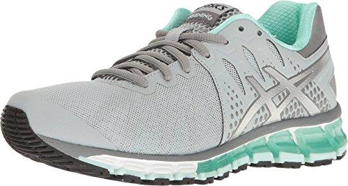 ASICS Women's Gel-Quantum 180 TR Running Shoe, Mid Grey/Silver/Bay, 5 M US
