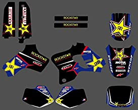 KIMME 0209 New Star TEAM GRAPHICS &BACKGROUNDS DECALS STICKERS Kits Fit Yamaha YZ80 YZ 80 1993 1994 1995 1996 1997 1998 1999 2000 2001