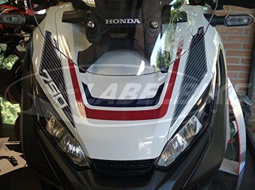 Adhesivos Resina Gel 3D Compatible Hocico Frontal Scooter Xadv Honda X-Adv 750