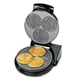 Chef's Choice PizzellePro Express Bake Nonstick Pizzelle Maker (Silver)