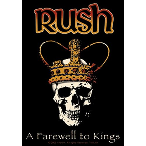 Rush - Farewell To Kings - Die Cut Sticker Decal by Rush