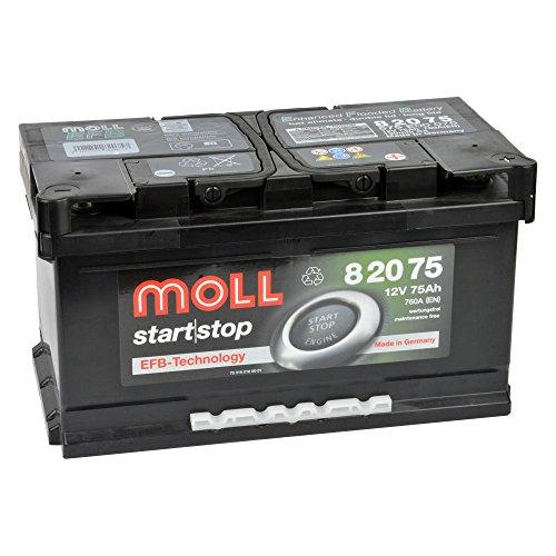 MOLL start|stop EFB 12V 75Ah 82075 Autobatterie