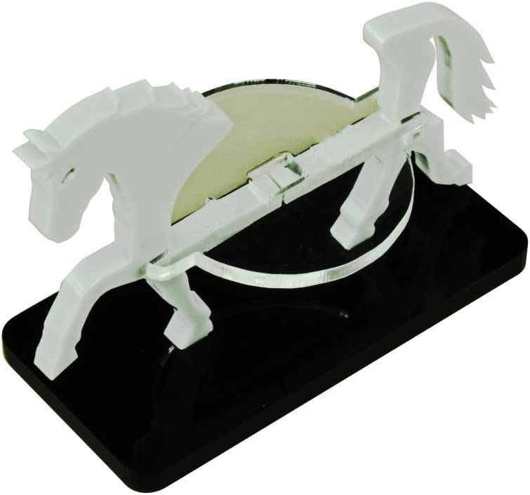 LITKO Nippon regular agency Large-scale sale Horse Character Mount with Grey 25x50mm Base