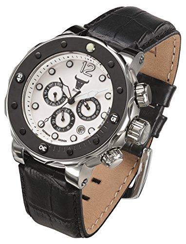Armbanduhr Bison -No. 4- BI0004WH