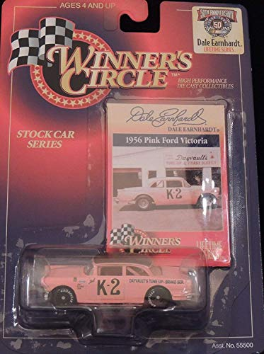 Hasbro 1956 Pink Ford Victoria Davault's #K2 Dale Earnhardt 1/64 Scale