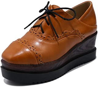BalaMasa Womens APL12129 Pu Wedge Heels