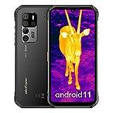 Móvil Resistente 5G, Ulefone Armor 11T Android 11 Con Cámara de Imagen Térmica FLIR Integrada Octa-Core Smartphone IP68, 8GB + 256GB MediaTek Dimensity 800, Cámara 48MP, 6.1