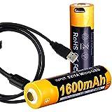 Best Usb Rechargeable Batteries - Fenix ARB-L14-1600U 1.5V USB Rechargeable 1600mAH AA Batteries Review