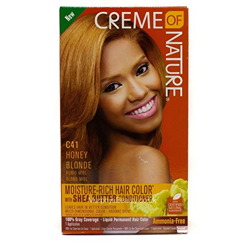 Creme of Nature Liquid Hair Color - #41 Honey Blonde by Creme of Nature