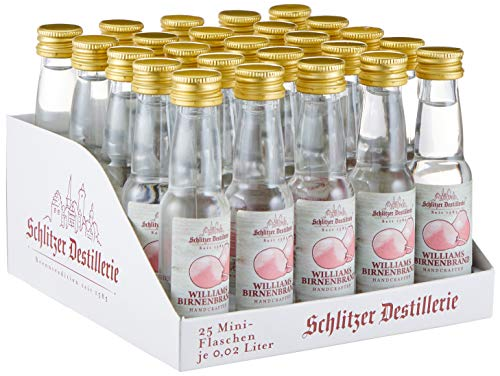 Schlitzer Williams Christ Birnenbrand Minis 40% (25 x 0,02l)