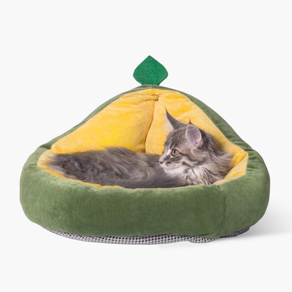 Bingirl Cat Dog Sleeping Nest Washable Wa Avocado Detachable Bed Las Vegas Mall Genuine