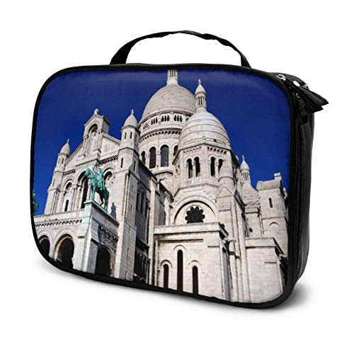 Great Luminous Saint Denis Church Travel Women Makeup Bag Cosmetic Bag Bag Cosmetic Organizer Multifunction Printed Pouch for Women