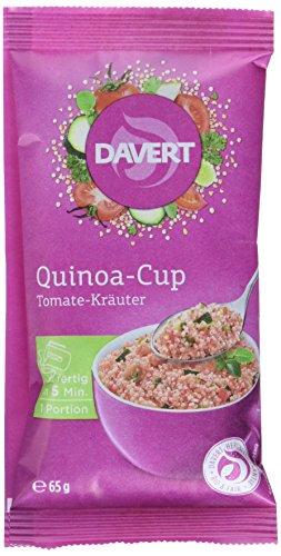 Davert Quinoa-Cup Tomate-Kräuter, 8er Pack (8 x 65 g)