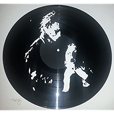 Hand painted Halloween Michael Myers Horror vinyl record Wall art version 4