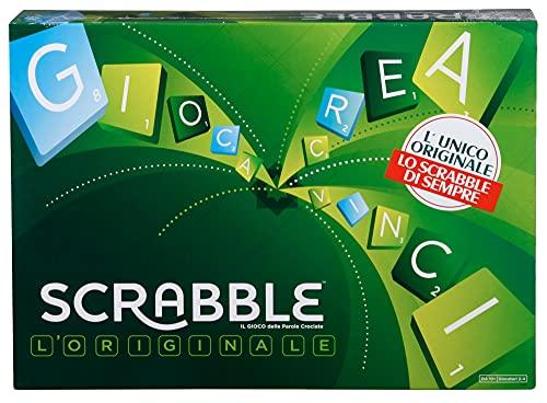 Mattel - Scrabble, il Gioco da Tavola delle Parole Crociate, Divertimento per Tutta la Famiglia, per Bambini da 7 + Anni, Il Design Potrebbe Variare, Y9596