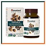 Himalaya Organic Triphala 30 Caplets for Colon Cleanse, Normal Bowel Movement | Supports Digestive System...