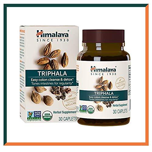 Himalaya Triphala (1.380 mg di polvere) | Per la pulizia del colon e il movimenti intestinali normale e facile | Supporta il sistema digestivo, aiuta la disintossicazione 30 caps (Triphala (Premium))