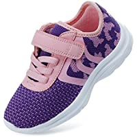 EvinTer Little Kid Boys Girls Running Sports Sneakers