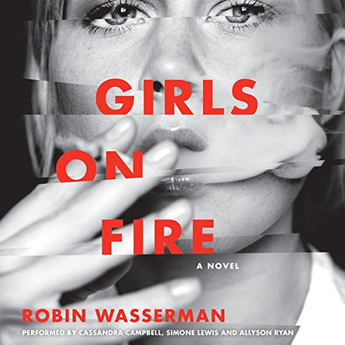 Girls on Fire audiobook cover art