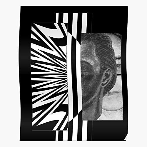 MADEWELL Geometric Fine Art Psychedelic Graphic Vasarely Concept Pattern Abstract Das eindrucksvollste und stilvollste Poster für Innendekoration, das derzeit erhältlich ist